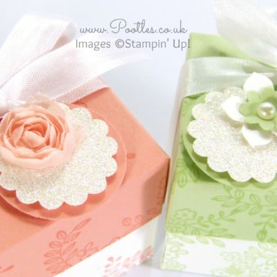 SpringWatch 2015 Tone on Tone Floral Lidded Favour Box Tutorial