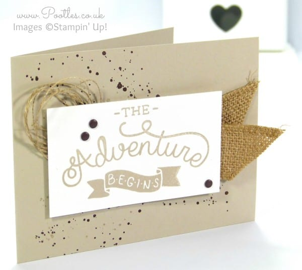 Stampin' Up! Demonstrator Pootles - Adventure Awaits Manly Card with Stampin' Up! Supplies