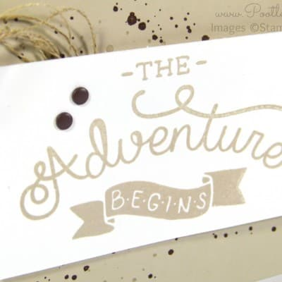 Adventure Awaits Manly Card with Stampin' Up! Supplies