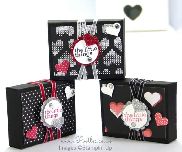 Stampin' Up! Demonstrator Pootles - UK Valentine's Envelope Punch Board Box Tutorial