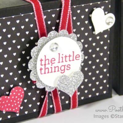 Valentine's Envelope Punch Board Box Tutorial