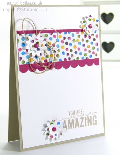 Stampin' Up! Spring Summer Catalogue is LIVE! Painted Blooms Card