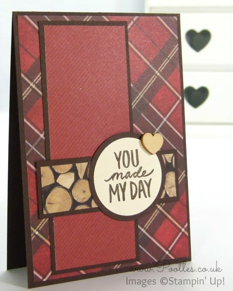 Stampin' Up! UK Demonstrator Pootles - Adventure Bound Sale a Bration Guy Card