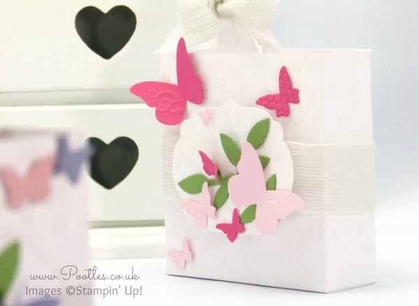 Stampin' Up! UK Demonstrator Pootles Big Shot Showcase Bath & Beauty Box Tutorial Single