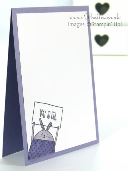 Stampin' Up! UK Demonstrator Pootles - Cheerful Critters meet Blendabilities
