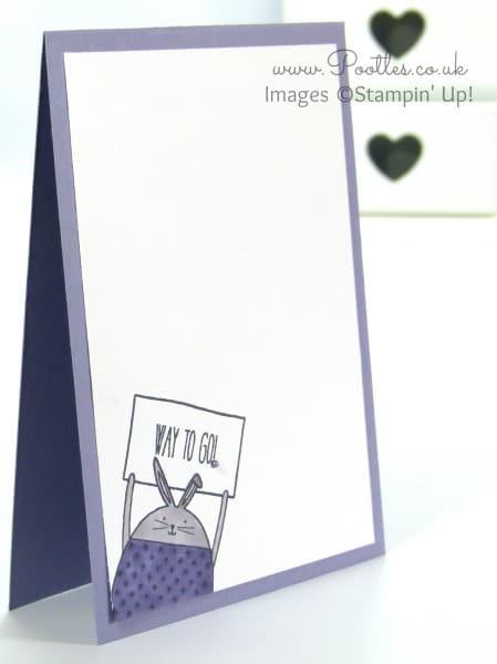 Stampin' Up! UK Demonstrator Pootles - Cheerful Critters meet Blendabilities
