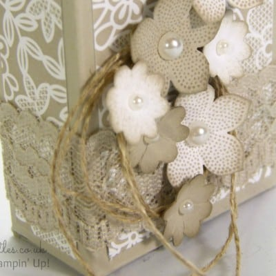 Lovely Little Box Tutorial using Stampin' Up! Supplies