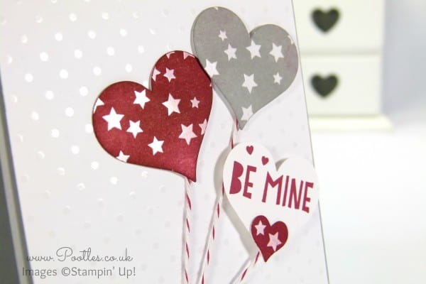 Stampin' Up! UK Demonstrator Pootles - You + Me = Irresistibly Yours Close Up