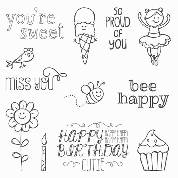 stampin up sweet stuff stamp set