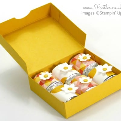 Hershey Nugget Box Tutorial using Stampin' Up! Supplies