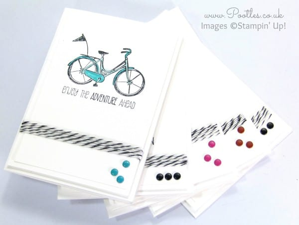 Life's Adventure Stampin' Up! Hostess Exclusive Notecards