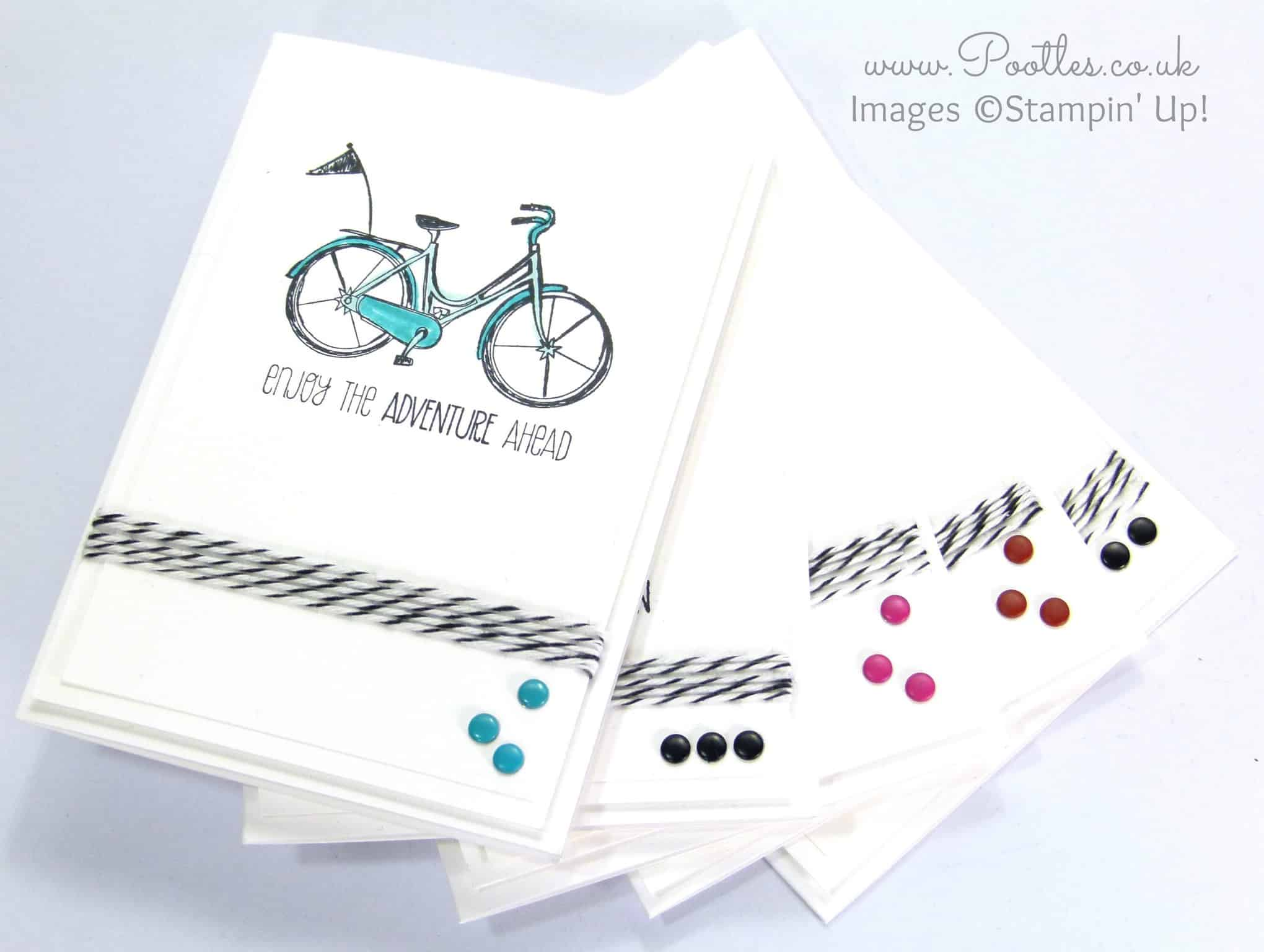 Life's Adventure Stampin' Up! Hostess Stamp Set Notecards