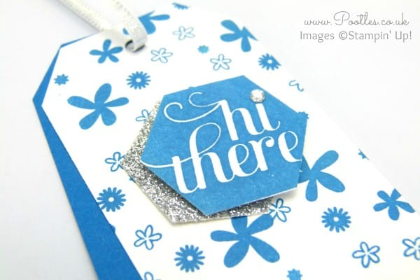 Perpetual Calendar Tags Tutorial using Stampin' Up! Supplies Close Up