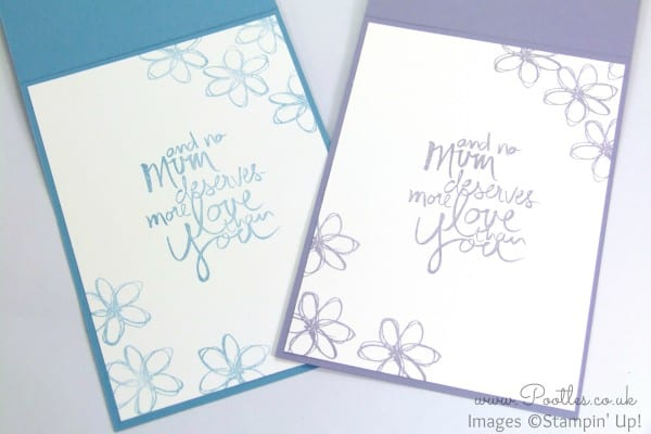 South Hill Designs & Stampin' Up! Sunday Mother's Day Card and Locket Tutorial