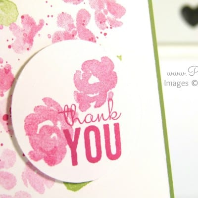 South Hill Designs & Stampin' Up! Sunday Painted Petals Locket & Card