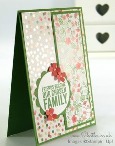 Stampin' Up! UK Demonstrator Pootles - Gorgeous Gold Soiree Painted Petals Card