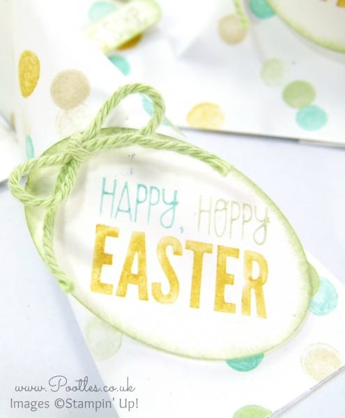 Pootles - Stampin' Up! DSP Easter Sour Cream Pouches Varying Sizes Stampin' Write Marker