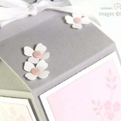 Yankee Candle Jar Box Tutorial using Stampin' Up! Supplies