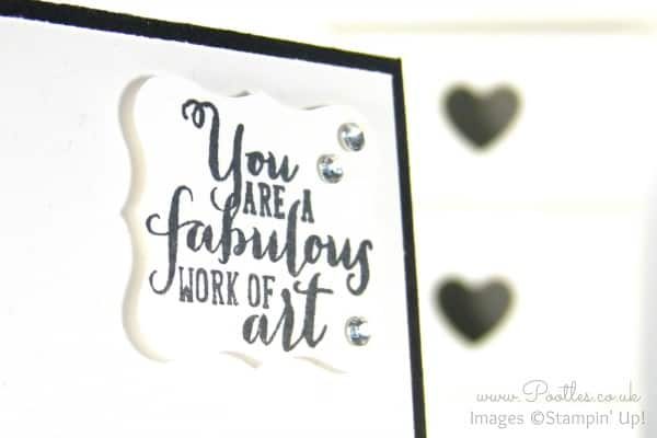 South Hill Designs & Stampin Up Sunday Rainbows Card & Locket Tutorial Work of Art