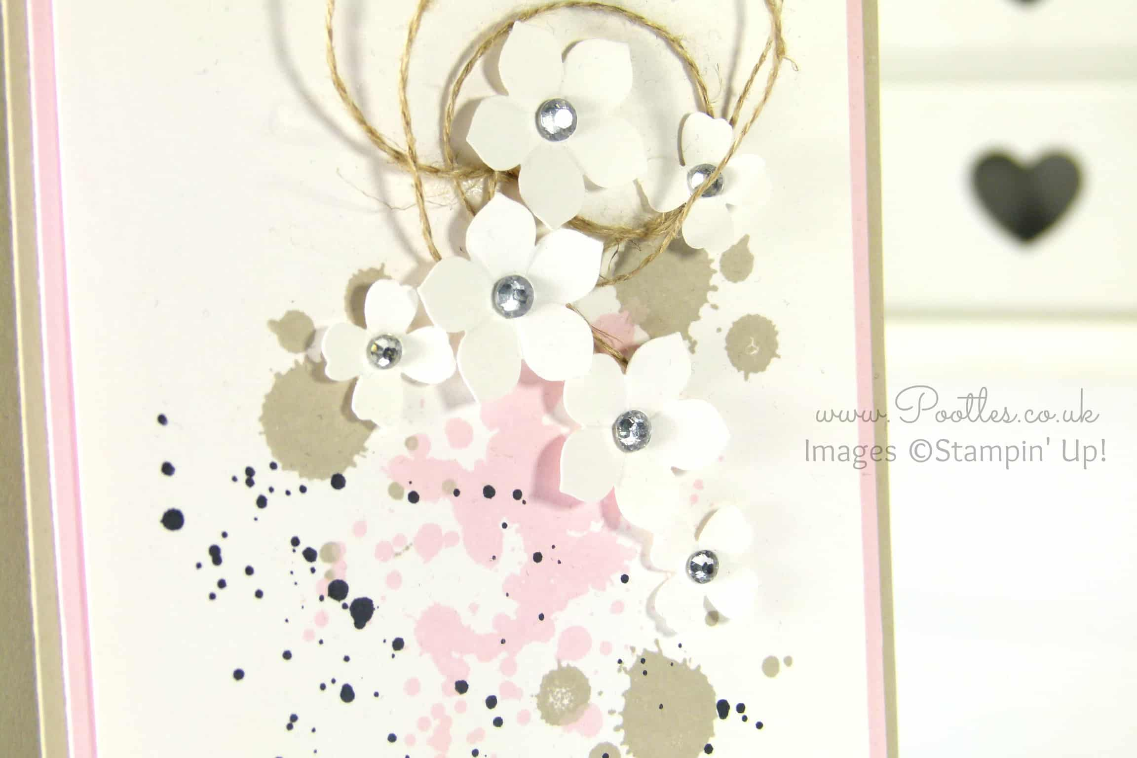 South Hill & Stampin' Up! Sunday Delicate Floral Card Tutorial