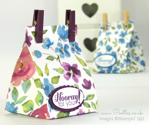 Stampin' Up! Bloomin' Fat Squishy Bag Tutorial