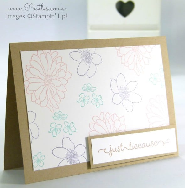 Stampin' Up! Demonstrator Pootles - A Dozen Thoughts of Forever Florals