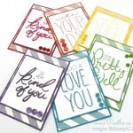 A Regal Rainbow of Big on You Cards