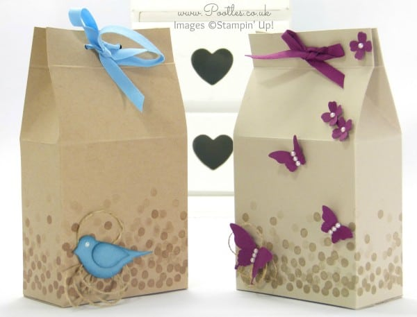 Stampin' Up! Demonstrator Pootles - Baby 'Scene' Box Tutorial
