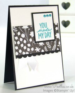 Stampin' Up! Demonstrator Pootles - Best Day Ever with Back to Black and Staples...