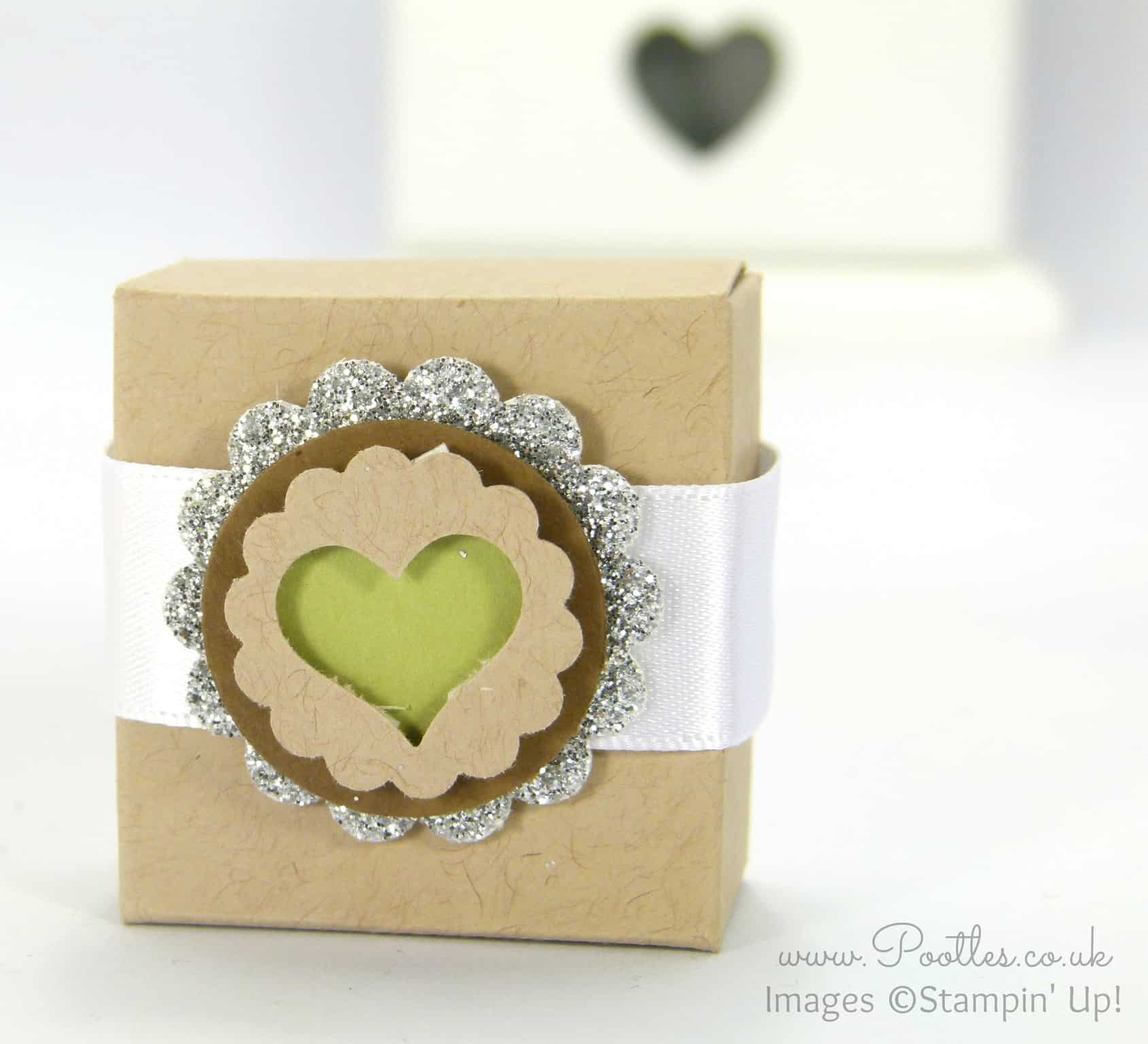 Envelope Punch Board Yankee Candle Tea Light Gift Box