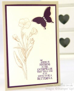 Stampin' Up! Demonstrator Pootles - March Thank You Cards! Blackberry Bliss
