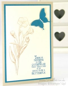 Stampin' Up! Demonstrator Pootles - March Thank You Cards! Island Indigo