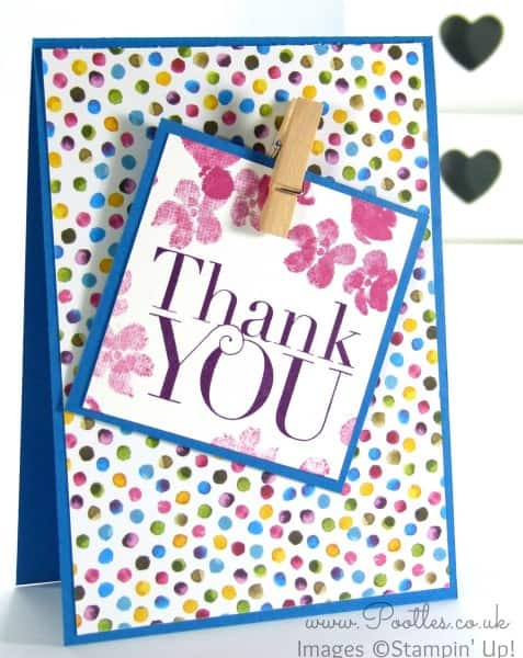 Stampin' Up! Demonstrator Pootles - Painted Blooms Thank You Cards 3