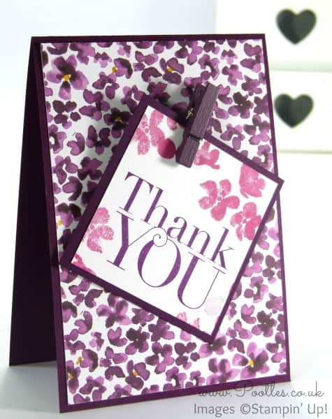 Stampin' Up! Demonstrator Pootles - Painted Blooms Thank You Cards 6