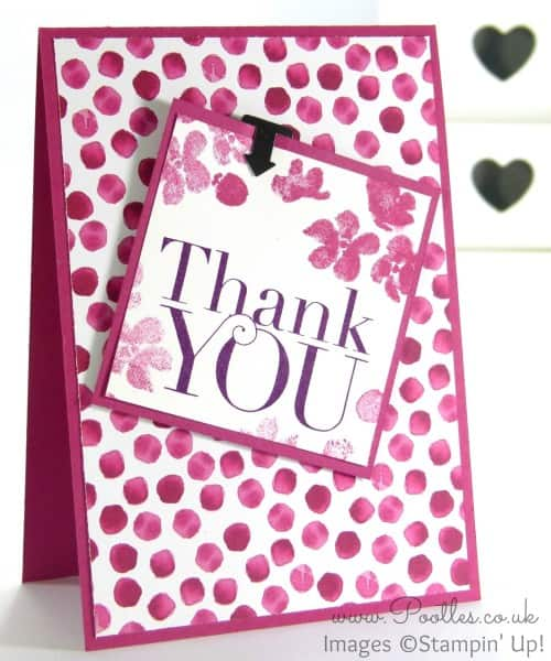 Stampin' Up! Demonstrator Pootles - Painted Blooms Thank You Cards 7