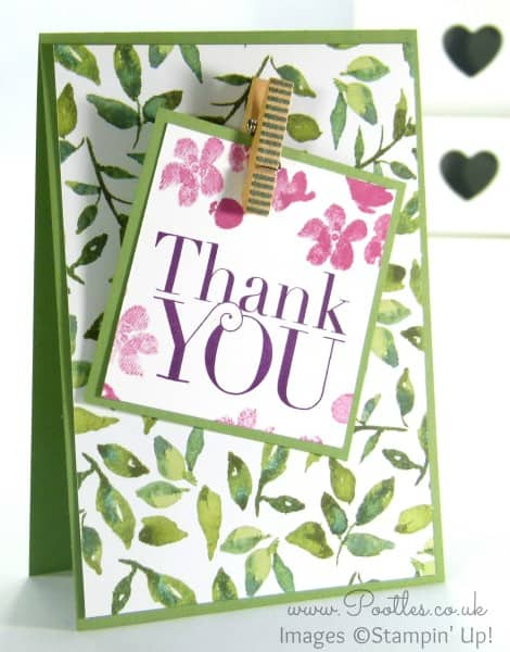 Stampin' Up! Demonstrator Pootles - Painted Blooms Thank You Cards 8