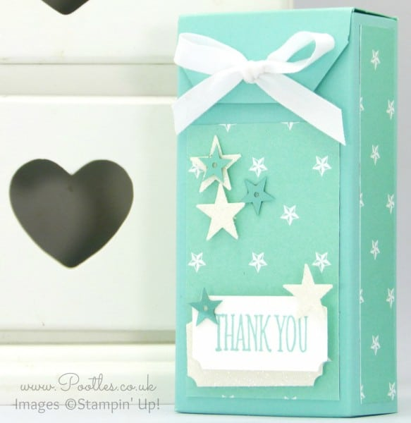 Stampin' Up! Demonstrator Pootles - Tag Topper Box Tutorial Maritime
