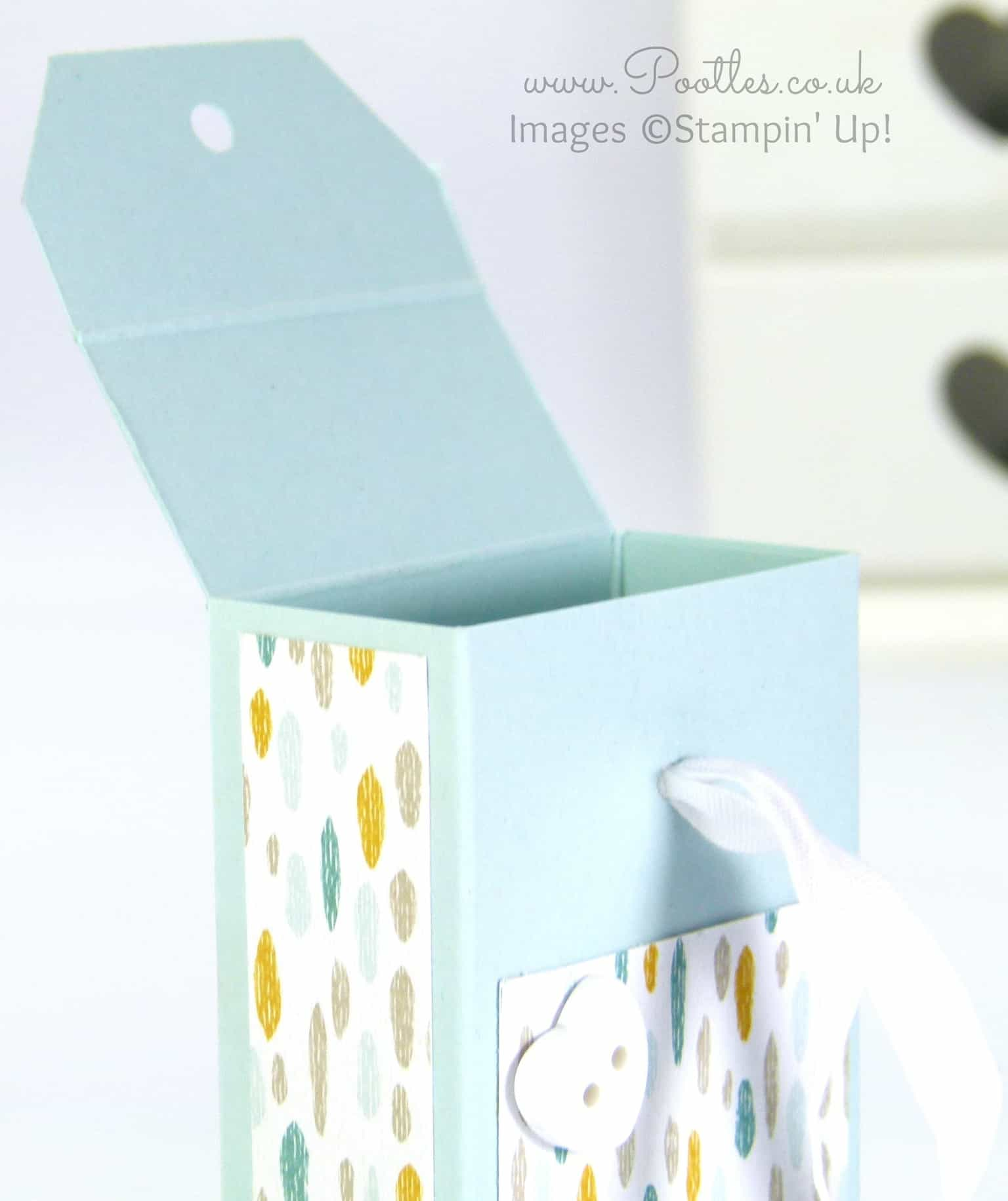 Stampin' Up! Tag Topper Box Tutorial