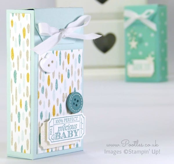 Stampin' Up! Demonstrator Pootles - Tag Topper Box Tutorial Sweet Dreams