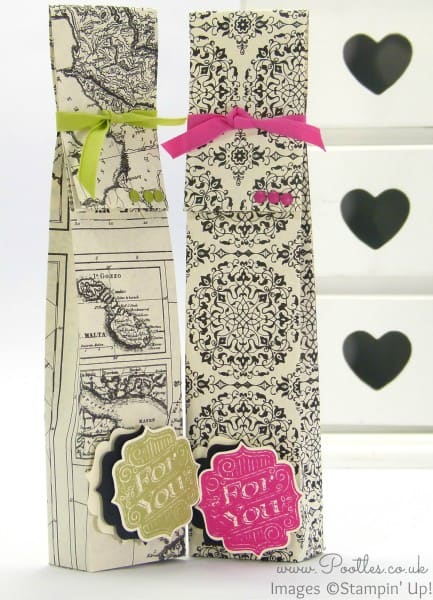 Stampin' Up! Demonstrator Pootles - Typeset Birthday Bag Tutorial