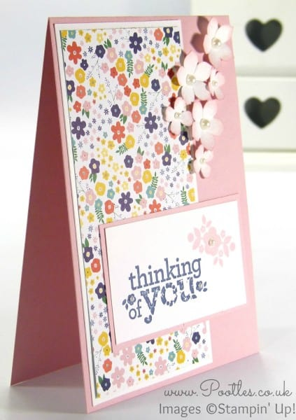 Stampin' Up! Independent Demonstrator Pootles - A Kind & Cozy Flowershop