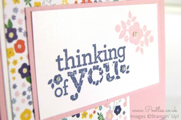 Stampin' Up! Independent Demonstrator Pootles - A Kind & Cozy Flowershop  Close Up