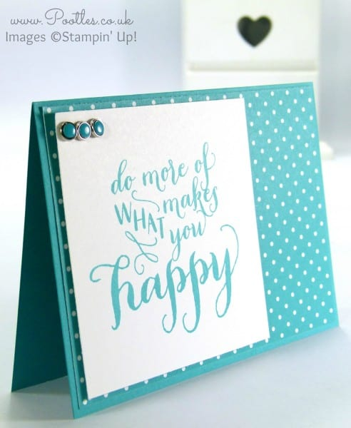 Stampin' Up! UK Demonstrator Pootles - Hello Life in Bermuda Bay