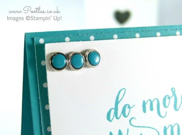 Stampin' Up! UK Demonstrator Pootles - Hello Life in Bermuda Bay close up