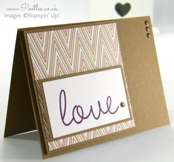 Stampin' up! Demonstrator Pootles - Park Lane So You Card for Chaps