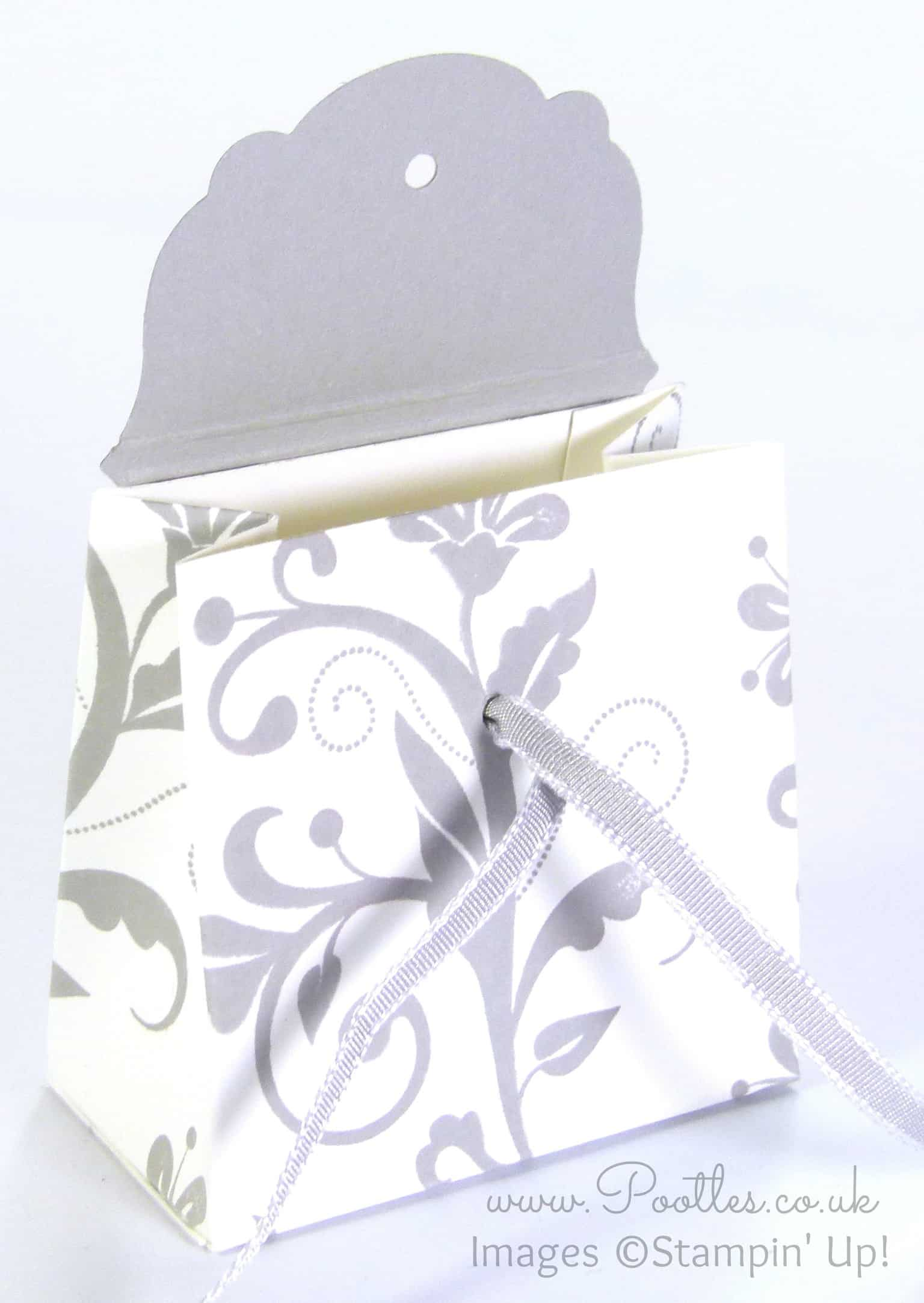 Wedding Favour Box Tutorial Using Stampin' Up! Supplies