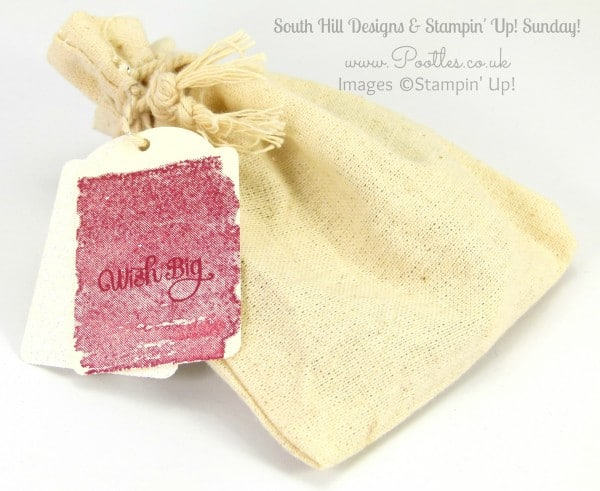 South Hill Designs & Stampin' Up! Sunday Team Treats Bag