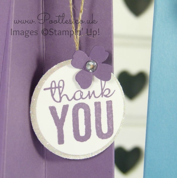 Stampin' Up! Independent Demonstrator Pootles - Tall Tower Pen Gift Holder Close Up