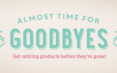 Stampin' Up! Retiring List Announced