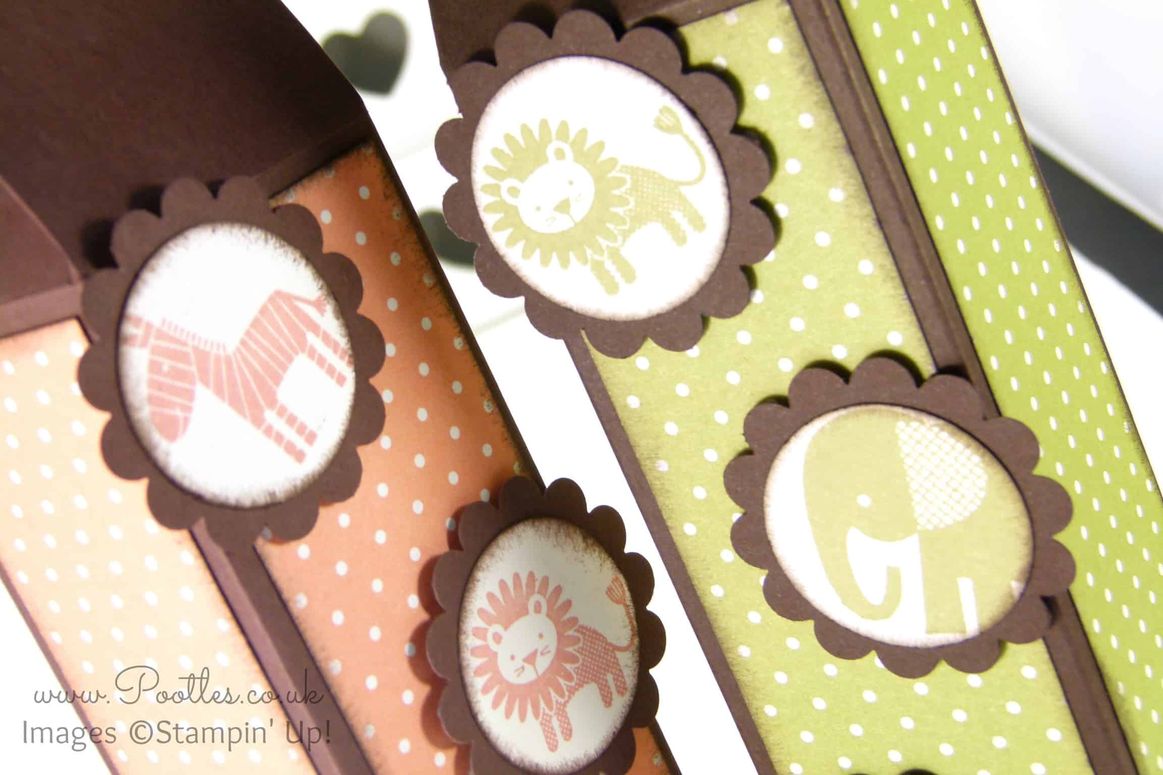 Stampin' Up! Tall Slim Baby Box Tutorial